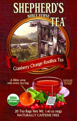 Cranberry Orange Rooibos Bible Verse Tea