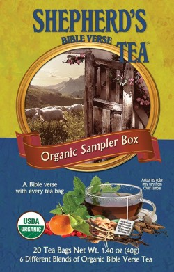 Bible Verse Tea Sampler Box
