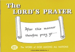 The Lords Prayer Coloring Book 5 - Outline Texts
