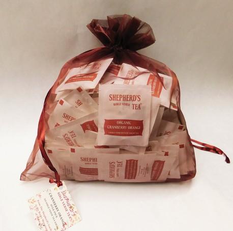 Cranberry Orange - Bulk Bible Verse Tea Bags - (100 Bags) Catalog Products