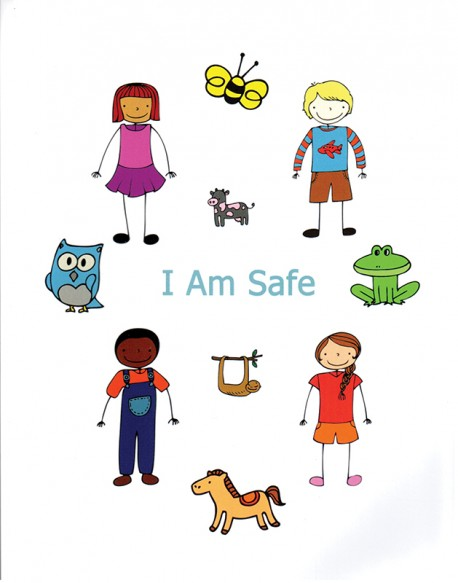 """""""I Am Safe"""" Coloring & Activity Book"""