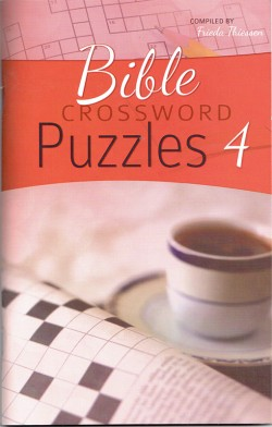 Bible Crossword Puzzles No. 4