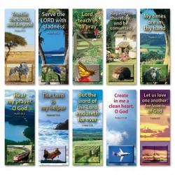 BOOKMARK - Set A (10 different bookmarks)