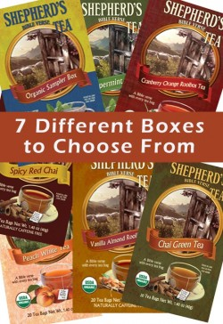 Combo Pack - 4 Boxes of Tea (Your Choice)