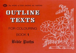 Bible Paths Coloring Book 1 - Outline Texts