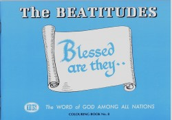 The Beatitudes Coloring Book 8 - Outline Texts