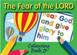 The Fear of the Lord - Coloring Book 13