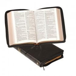 Windsor Text Bible - KJV - Black - Zipper