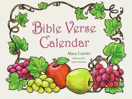 Bible Verse Coloring Calendar