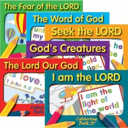 Mixed Set of Coloring Books - Set 2