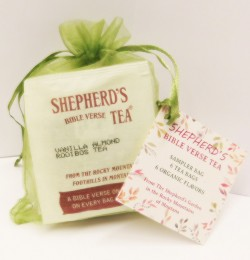 Shepherd's Bible Verse Sampler Bag - 6 Tea Bags