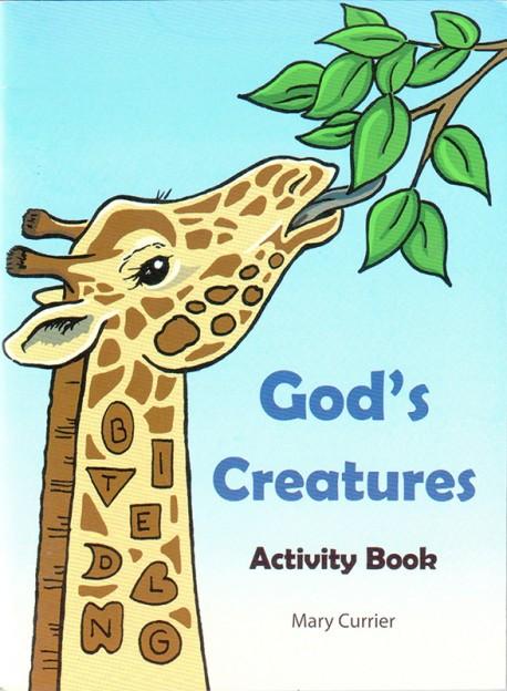 God's Creatures Activity Book