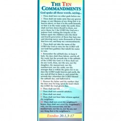 BOOKMARK - 10 Commandments