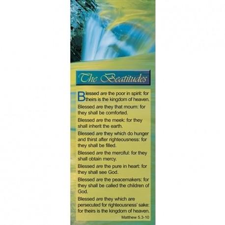 BOOKMARK - Matthew 5:3-10