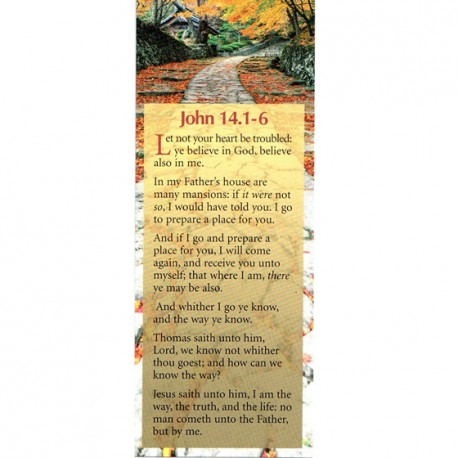 BOOKMARK - John 14:1-6